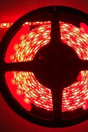 LED List/strip 3528 Röd, IP65