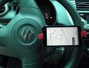 Mobilhållare ratt