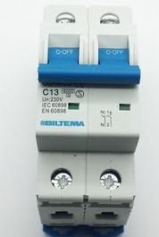 Automatsäkring  C13 (2polig) 230V